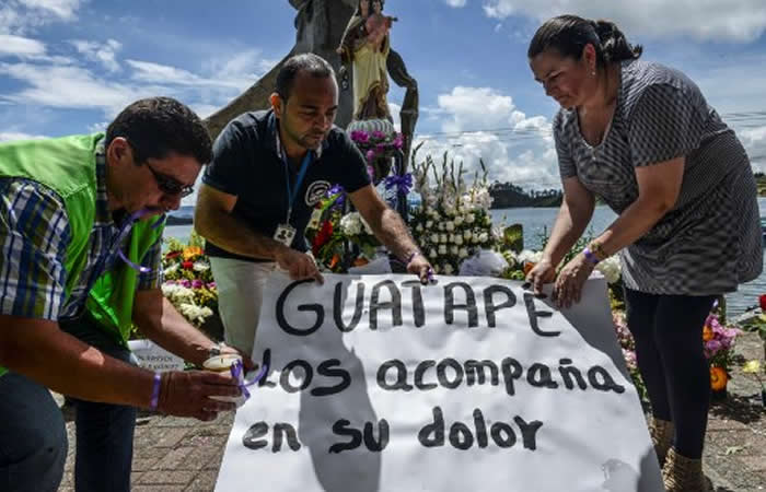 Guatapé: Los Barragán, la familia que llora dos muertes y una desaparición