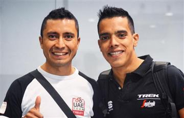 Tour de Francia: Así llegan Darwin Atapuma y Jarlinson Pantano