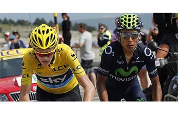 """Tour de Francia: """"Mi mente me dice Froome, mi corazón Nairo"""" ¿Quién lo dijo?"""