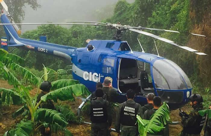 Venezuela: Helicóptero de supuesto