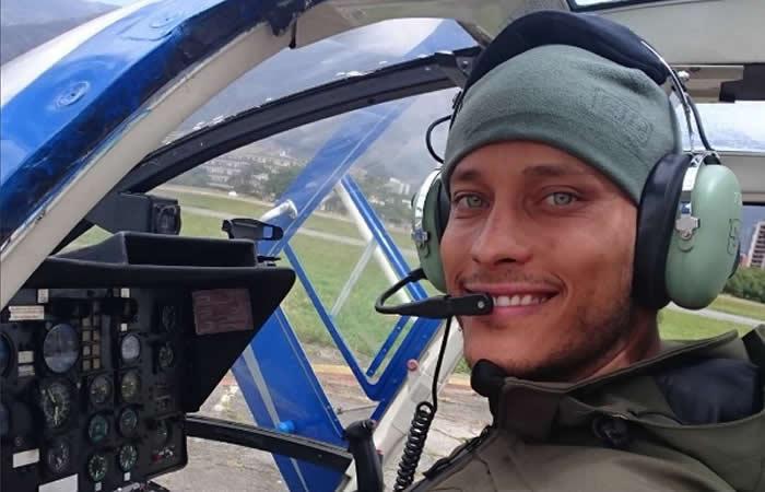 Venezuela: Policía que secuestró y sobrevoló Caracas también es actor