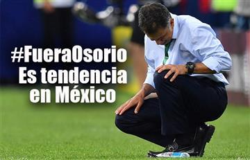 Copa Confederaciones: #FueraOsorio es tendencia en México