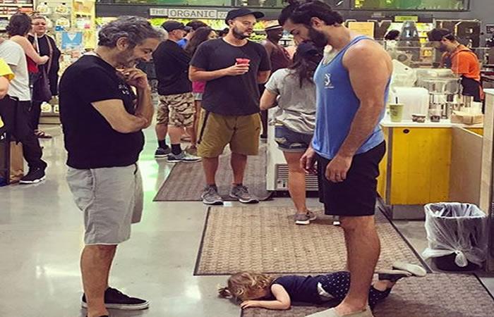 La lección de un padre ante la rabieta de su hija que se hizo viral