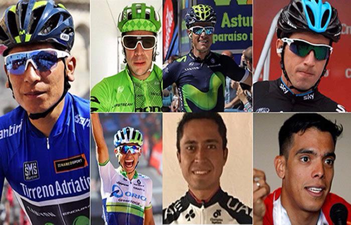 Tour de Francia: Los ciclistas colombianos que representarán al país