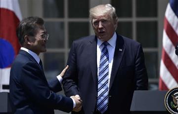Trump amenaza a Corea del Norte tras agotársele la paciencia