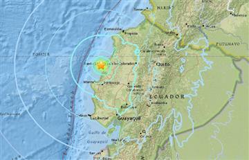 Ecuador: Sismo de 6.3 sacude la costa