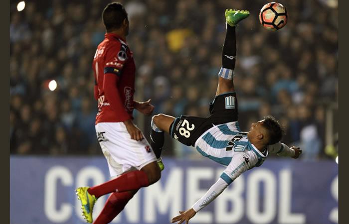 Independiente Medellín cayó ante Racing por la Sudamericana