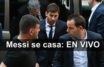 Lionel Messi: Transmisión EN VIVO de su boda