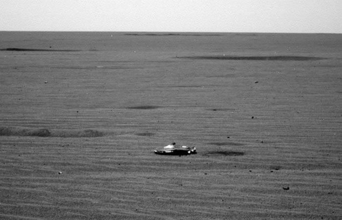 NASA: ¿Fue hallado un OVNI en Marte?
