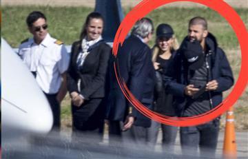 Shakira y Piqué a pesar de todo llegaron al matrimonio de Lionel Messi