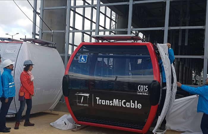 TransMiCable en Ciudad Bolívar ya cuenta con 84 cabinas