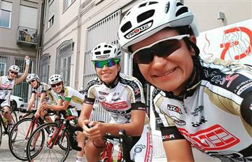 Giro de Italia femenino: Ana Cristina Sanabria puesto 14 en primera etapa