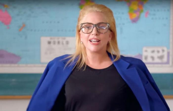 Lady Gaga fue profesora por un día