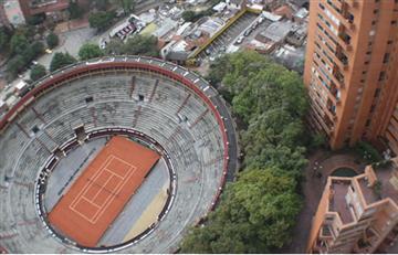 Plaza de toros Santamaría se convertiría en una cancha de tenis