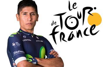 Tour de Francia: Así llega Nairo Quintana