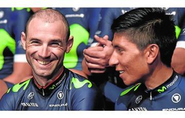 Tour de Francia: El emotivo mensaje de Nairo a Valverde que conmueve al mundo