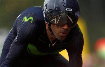 Tour de Francia: Parte médico oficial de Alejandro Valverde
