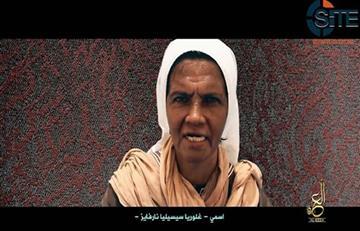 Al Qaeda revela prueba de vida de monja colombiana