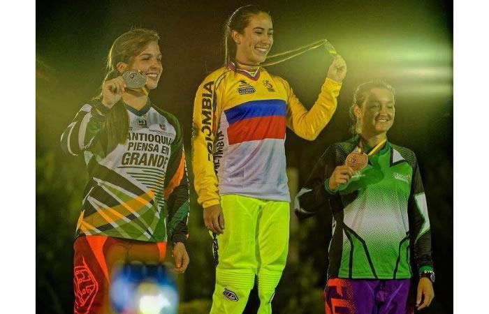 Mariana Pajón campeona nacional de BMX