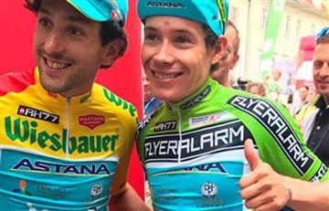 'Superman' López, regresó y quedó segundo en el Tour de Austria