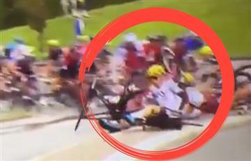 Tour de Francia: Así fue la caída de Chris Froome y Henao en la etapa 2