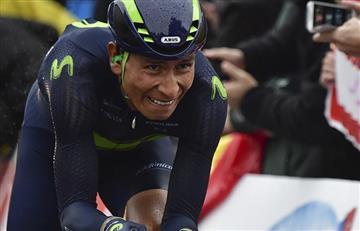 Tour de Francia: Nairo Quintana siente la ausencia de Valverde