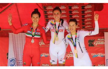 Colombiana Lorena Colmenares, oro en Centroamericano de Pista