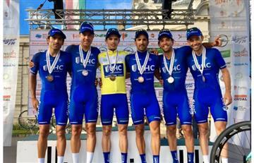 Colombiano Daniel Jaramillo primer latino en ganar el Tour de Hungria
