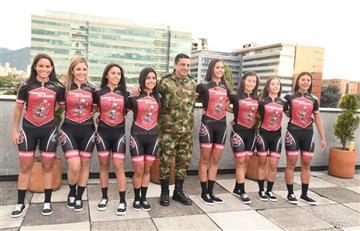 Ejército Nacional colombiano crea equipo de ciclismo femenino
