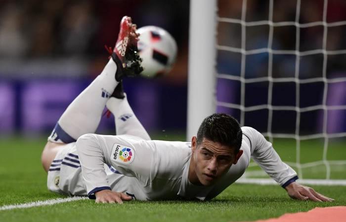 James Rodríguez: Real Madrid ya le tendría reemplazo al colombiano