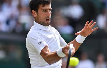 Djokovic se clasifica a segunda ronda de Wimbledon