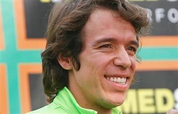 Rigoberto Urán y su inesperada respuesta a un periodista de Caracol