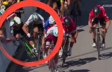 Tour de Francia: Peter Sagan ocasiona una terrible caída