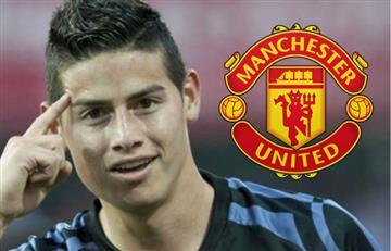 James Rodríguez: El United considera que no vale 80 millones