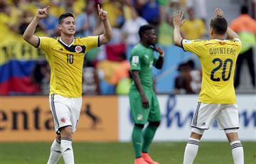 James Rodríguez y Juan Fernando Quintero: Unos cracks en el fútbol 5