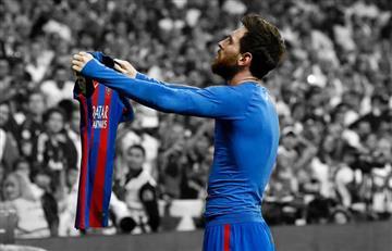 Lionel Messi para rato en el Barcelona