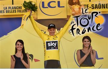 Tour de Francia: Froome se viste de amarillo y Nairo entre los 10