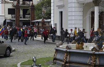 Venezuela: Chavistas ingresan violentamente a la Asamblea Nacional