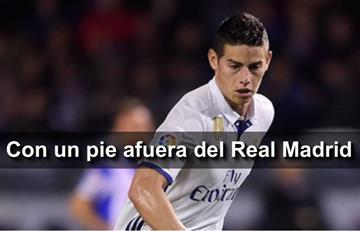 James Rodríguez: Otra opción que lo pone por fuera del Real Madrid