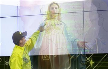 Policía del Magdalena Medio asegura haber visto a la Virgen