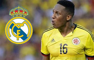 ¿Real Madrid fichará a Yerry Mina?