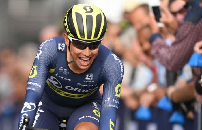 Tour de Francia: Esteban Chaves, el mejor colombiano de la etapa 6
