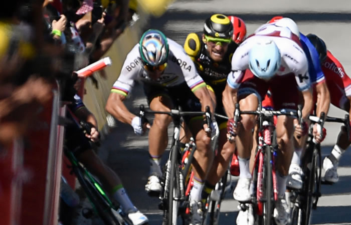 Tour de Francia: Sagan y su equipo piden su reinserción