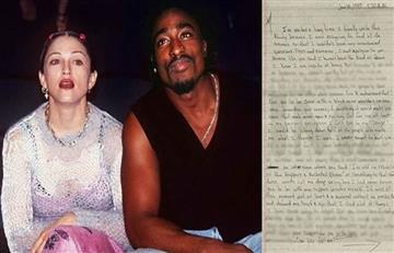 Tupac Shakur habría dejado a Madonna por ser blanca