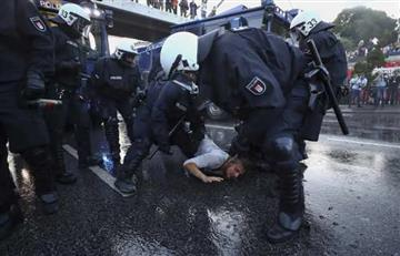 Caos en Hamburgo tras disturbios contra la cumbre G20