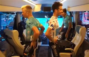 Fabio Aru: Al ritmo de 'La Macarena' enciende el Tour de Francia