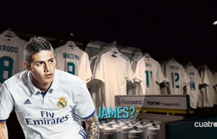 James Rodríguez: ¿Dónde está su camiseta?