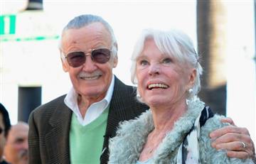 Muere Joan, la esposa de Stan Lee, a sus 93 años