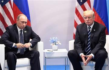 """Putin pide a Trump actuar con """"sangre fría"""" contra Corea del Norte"""