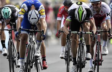 Tour de Francia: Épico final de foto finish en la séptima etapa